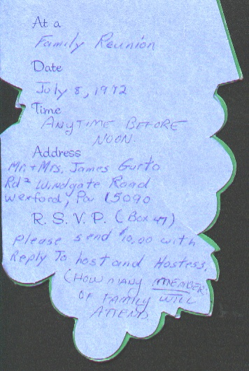 Reunions 1972invitation to first reunion inside 1972.jpg (98422 bytes)